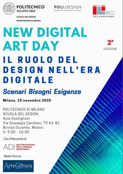 """""""New Digital Art Day"""": il ruolo del design nell'era digitale"""
