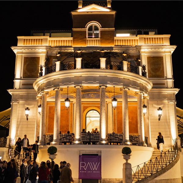 RAW - Rome Art Week 2020