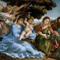 """Un capolavoro per Venezia: """"Sacra conversazione con i santi Caterina e Tommaso"""" di Lorenzo Lotto"""