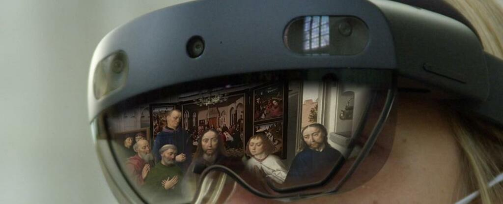 A Lovanio reale e virtuale si incontrano: l'arte in ologrammi