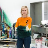 Conversazioni d'autore: Katharina Grosse con Bartolomeo Pietromarchi