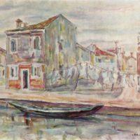 Eugenio Da Venezia (1900-1992): malinconiche cromie del post-impressionismo italiano
