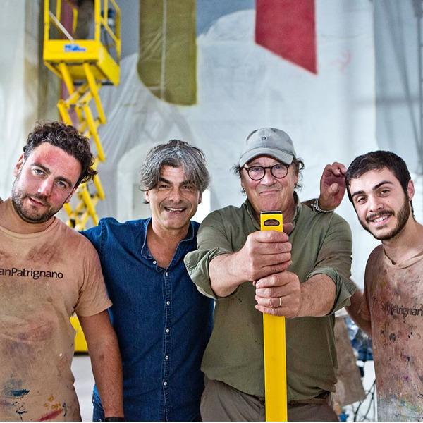 Giornata del Contemporaneo: i Palazzi dell'Arte di Rimini mostrano il video della realizzazione del murale di Davide Tremlett