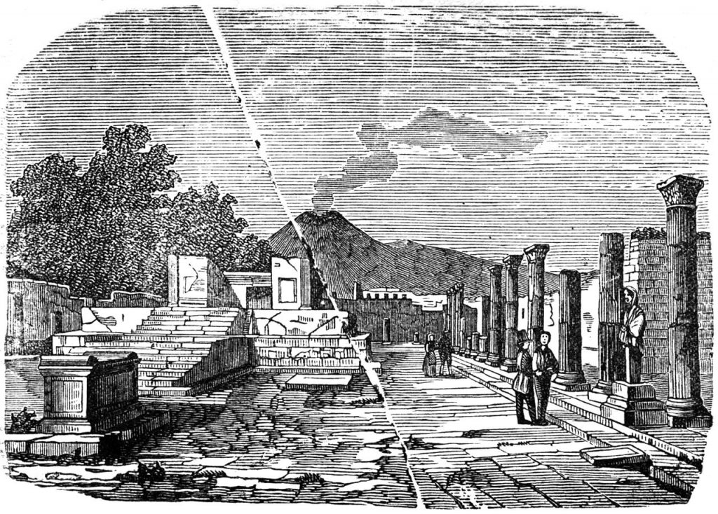 """""""Guida di Pompei illustrata"""" (1901) di Francesco Morlicchio"""