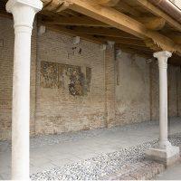 Il restauro del chiostro trecentesco del nuovo Museo Salce