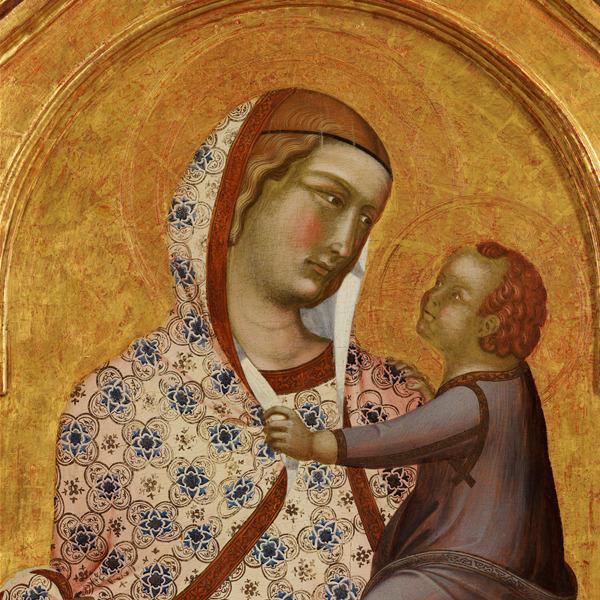 """Il restauro del polittico di Pietro Lorenzetti con la """"Madonna con Bambino"""""""