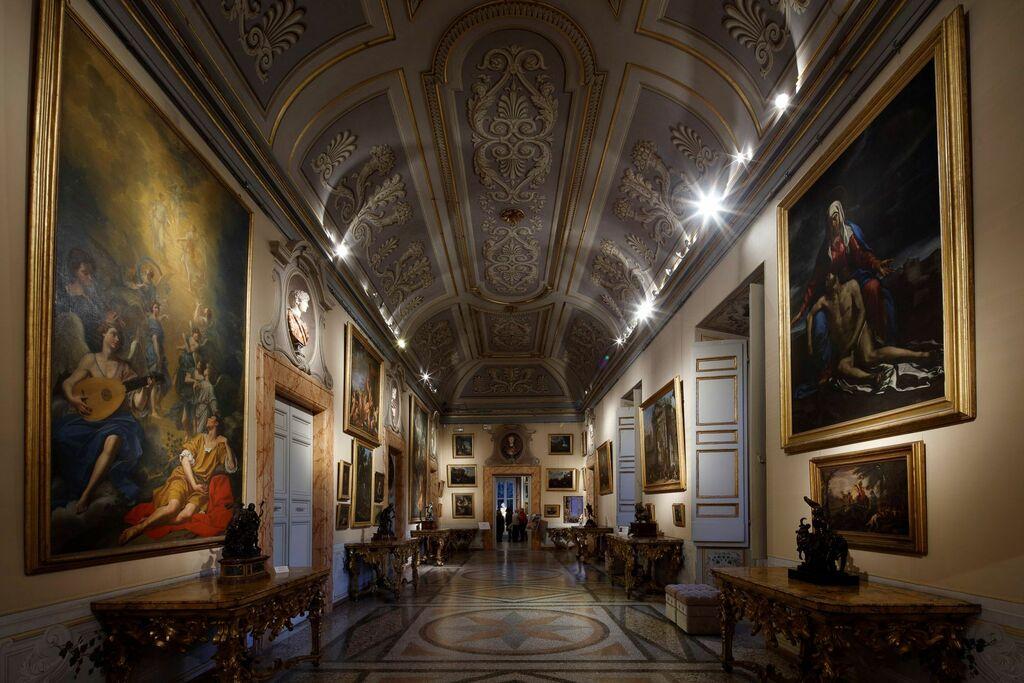 Il restauro delle consoles rococò di Galleria Corsini