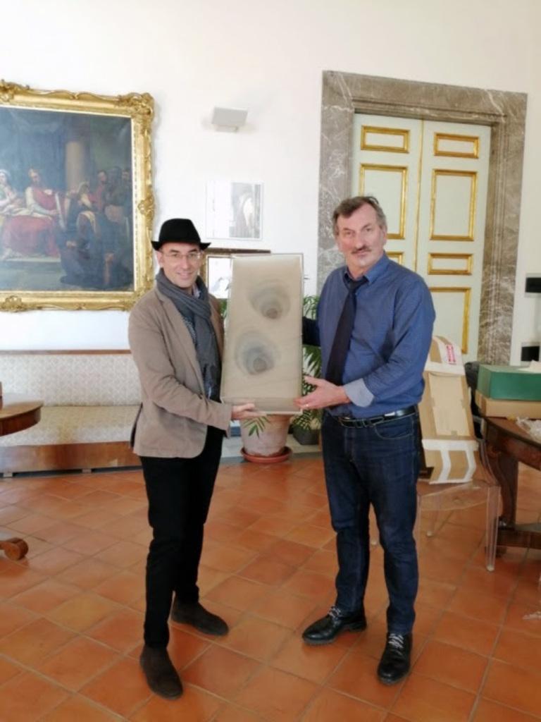 L'opera Lost di Max Coppetta entra nella collezione di Arte Contemporanea della Reggia di Caserta