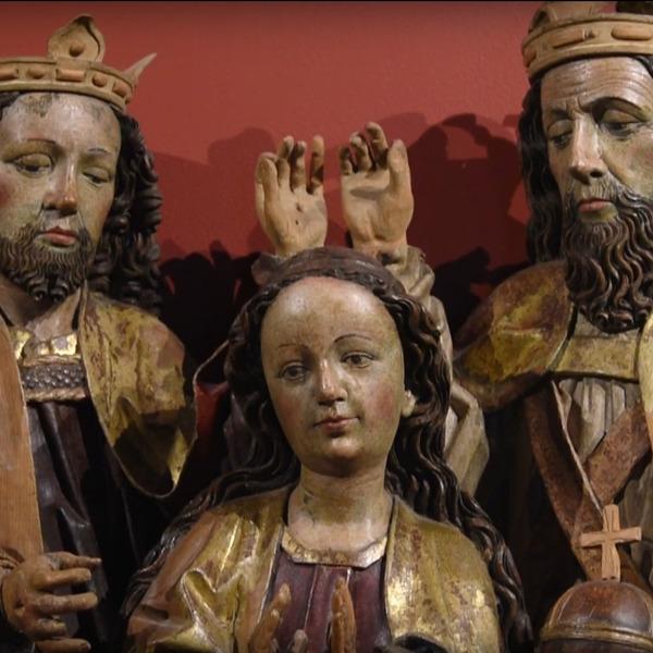 Sacri legni scolpiti, intagliati, dipinti del XV secolo