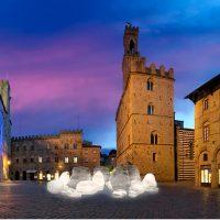 A Volterra si inaugura l'opera urbana in alabastro