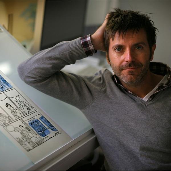 Incontro con il fumettista Paco Roca