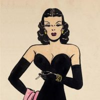 Masters of black and white: Milton Caniff