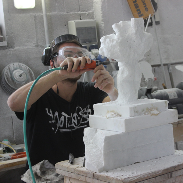 Workshop di scultura a Pietrasanta