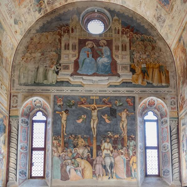 Il restauro percettivo degli affreschi trecenteschi di Altichiero da Zevio all'Oratorio di San Giorgio di Padova