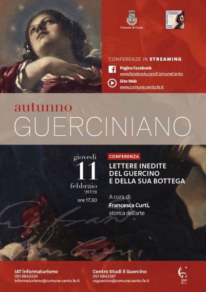 Lettere inedite del Guercino e della sua bottega. Conferenza di Francesca Curti