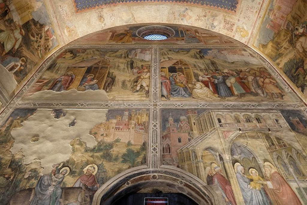 All'Oratorio di San Giorgio riprendono vita gli affreschi trecenteschi di Altichiero da Zevio