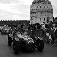 Bruno Pollacci. 1000 Miglia Pisa 2014 - Omaggio alla manifestazione automobilistica