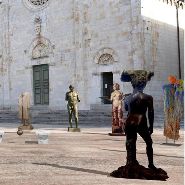 La piazza in attesa - Mostra collettiva