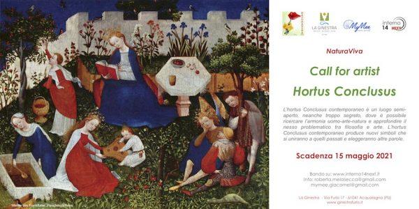 Concorso per opere e installazioni a cielo aperto: Hortus conclusus