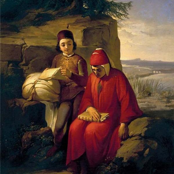 Dante nell'arte dell'Ottocento. Un'esposizione degli Uffizi a Ravenna. Dante in esilio