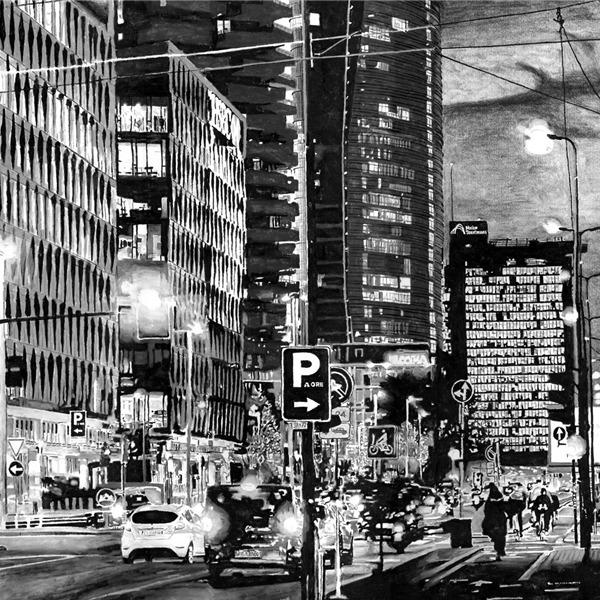Fabrizio Boldrini. D'un tratto: la Milano del 2000