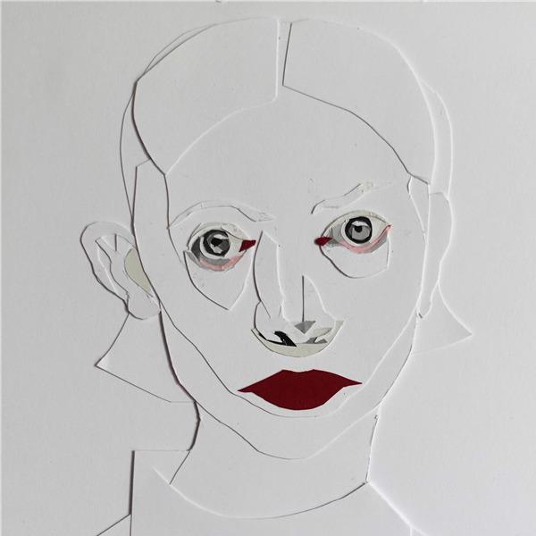 Francesco Merletti. Bianca su bianco