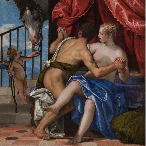 Guardami! Sono una storia… Marte, Venere con Cupido e un cavallo di Veronese