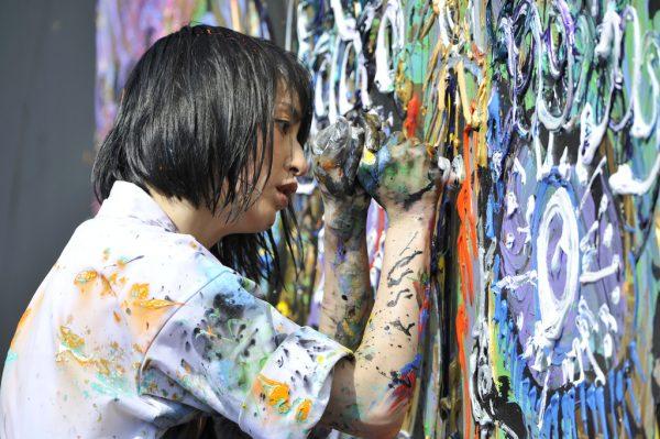 Miwa Komatsu in live painting su YouTube