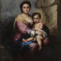 """Occhi come lanterne danzanti. Storia e restauro della """"Madonna del latte"""" di Murillo"""