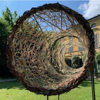 Galleria a cielo aperto con sculture di Oscar Accorsi, Antonella De Nisco, Alberto Timossi