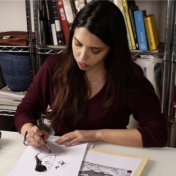 Le illustrazioni di Sakka raccontano l'eccellenza italiana