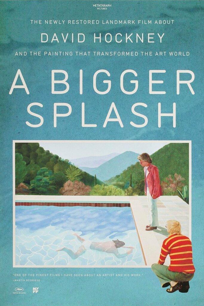 """Lo schermo dell'arte presenta """"A bigger splash"""" di Jack Hazan"""