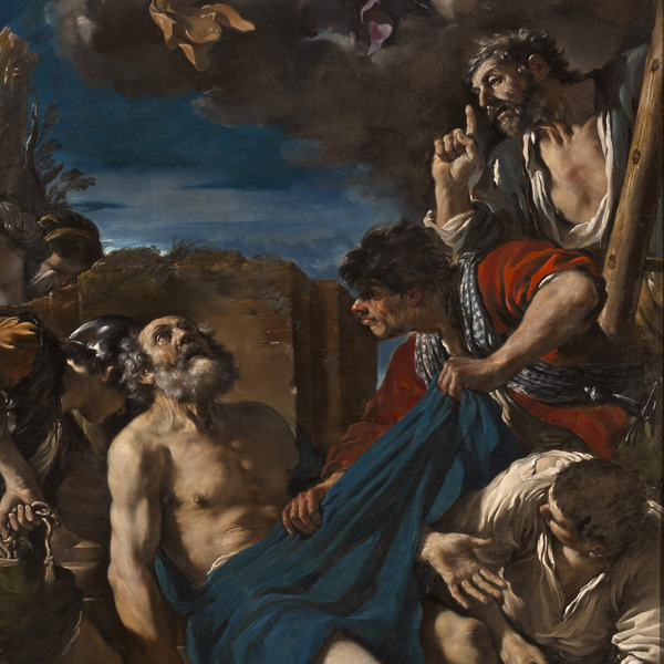 """L'opera del mese alle Gallerie Estensi: """"Il martirio di San Pietro"""" del Guercino"""
