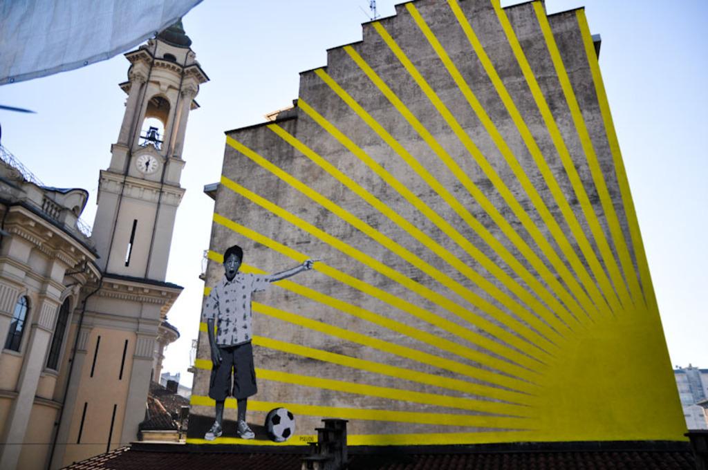 """A Torino nasce """"To shape"""": l'urban art come espressione dell'arte contemporanea"""