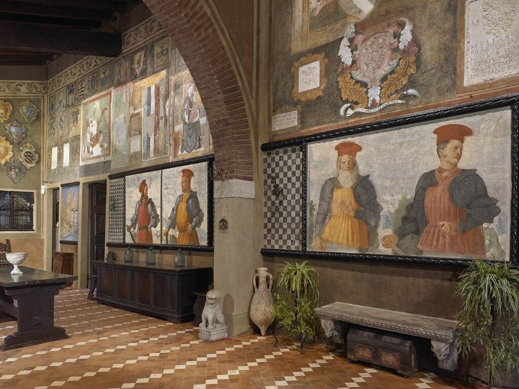 Al Museo Casa del Podestà di Lonato del Garda la scoperta di Romanino, le visite virtuali e la sala immnersiva