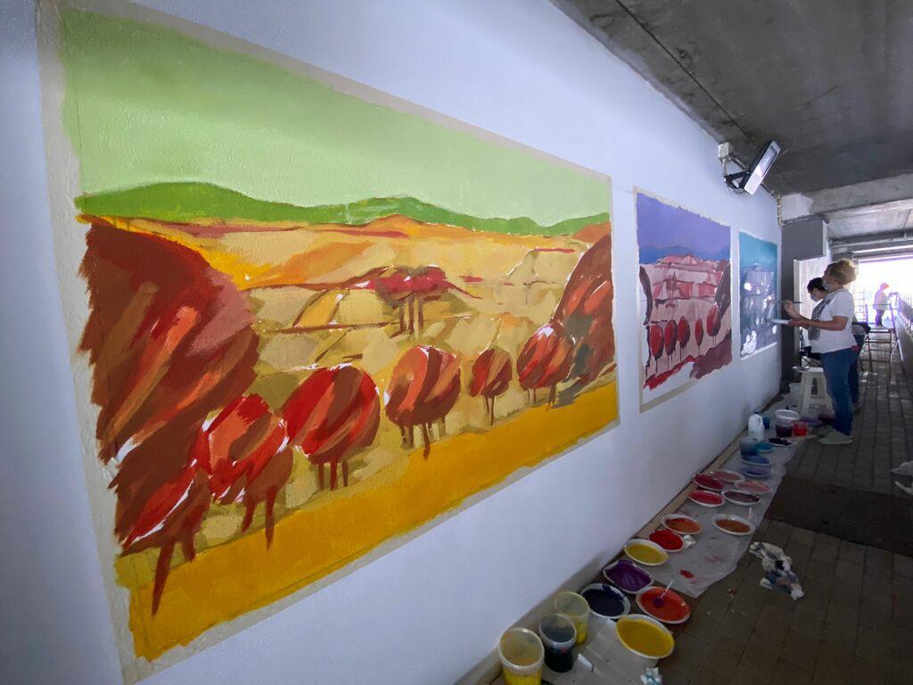"""""""Forever green"""": la Street Art per la rigenerazione urbana di Rieti"""