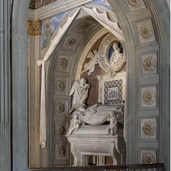 Il resturo della Cappella del Cardinale di Portogallo in San Miniato al Monte