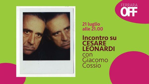 Incontro su Cesare Leonardi