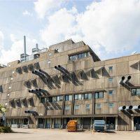 Architettura brutalista a Berlino