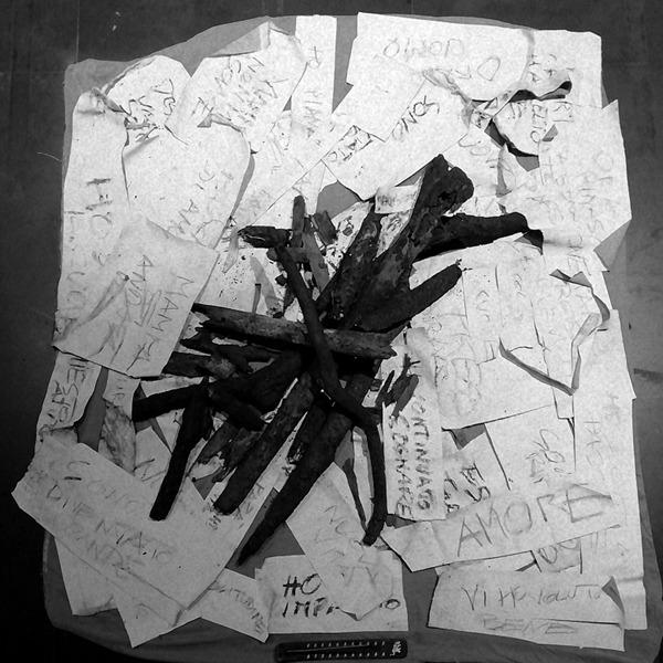 Lastlife - Epilogue. Installazione di Sergio Angeli