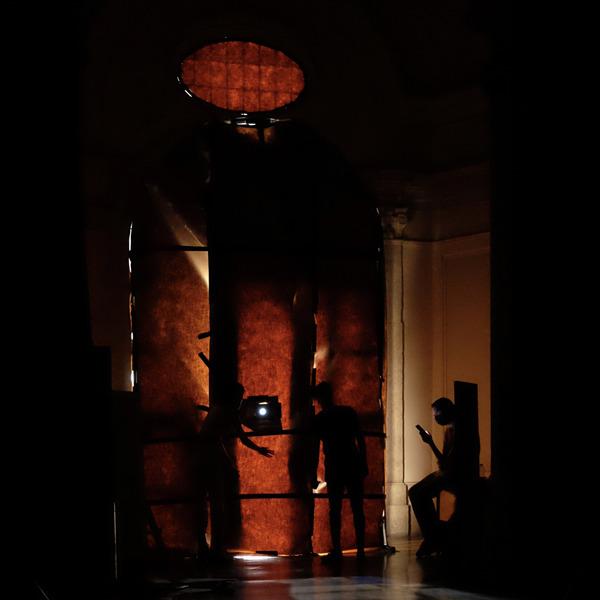 Lo spiracolo di Santa Rita - Installazione di Valeriana Berchicci