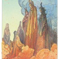 Nel segno di Dante, tra illustrazione e fumetto