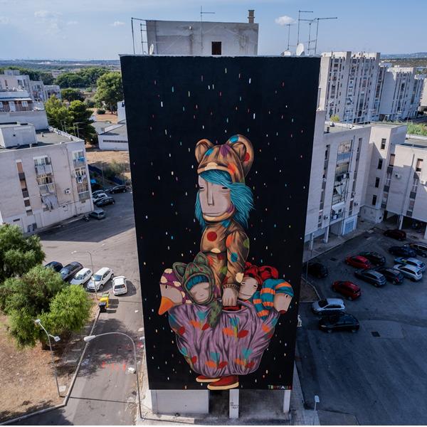 Sedici street-artist per la rivalutazione urbana di Taranto