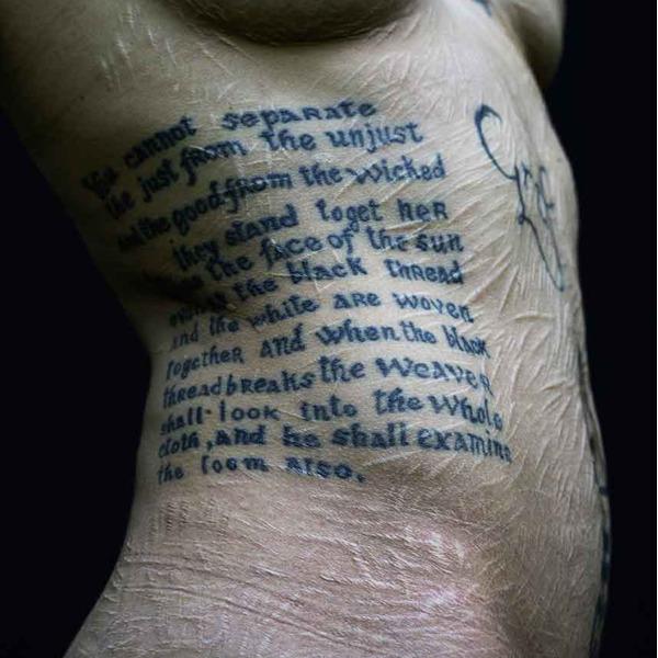 Sulla tua pelle. Fotografie di Alessandro Didoni
