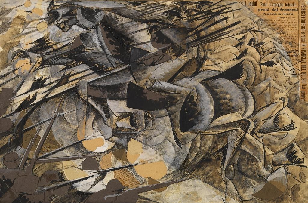 Al Museo del Novecento riapre al pubblico la Galleria del Futurismo