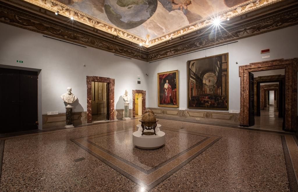 Il nuovo allestimento delle Sale dei Cinquecento a Palazzo Barberini