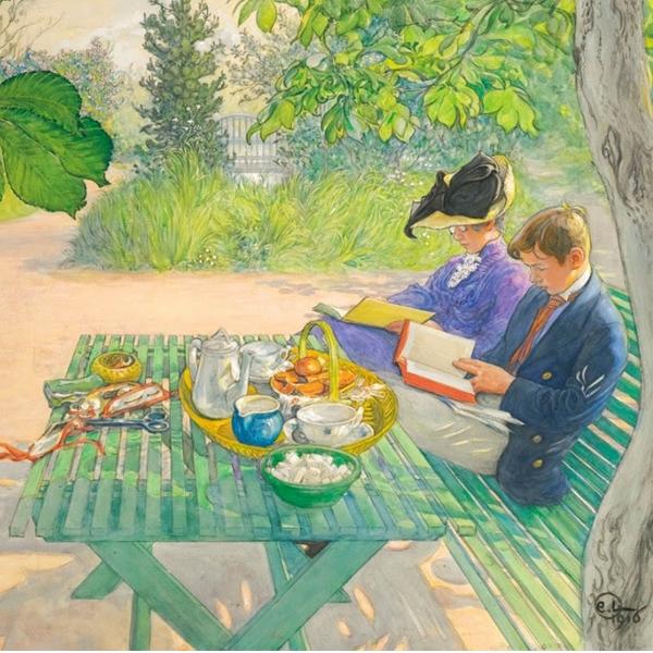 Lezioni di storia dell'arte: Carl Larsson