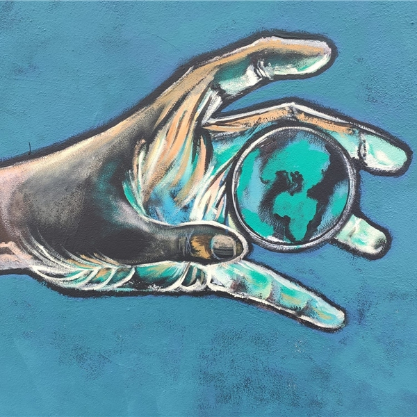 """""""Oltre la siepe"""": il murale di Soledad Agresti"""
