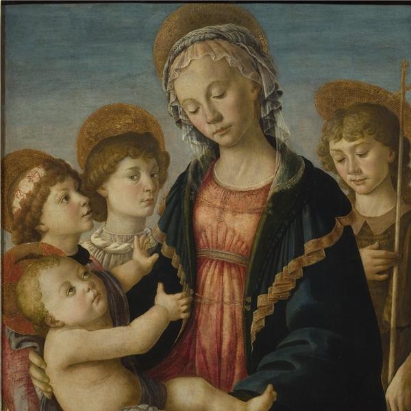 Un'altra opera di Sandro Botticelli in prestito al museo di Innsbruck