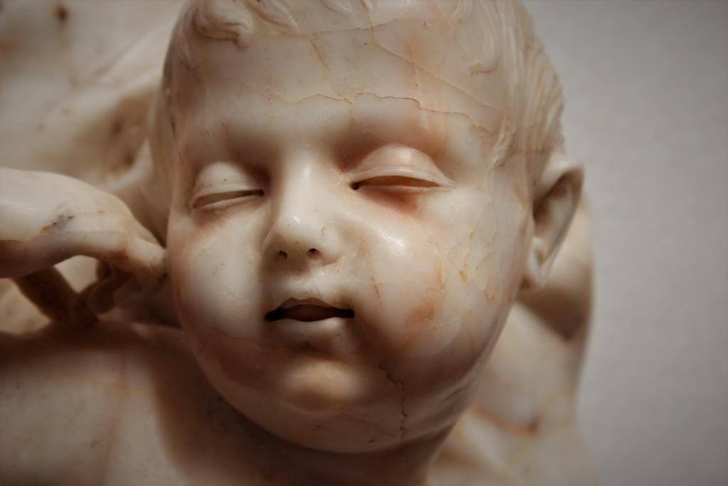 Un'opera di Giuseppe Sanmartino riscoperta nei depositi della Reggia di Caserta